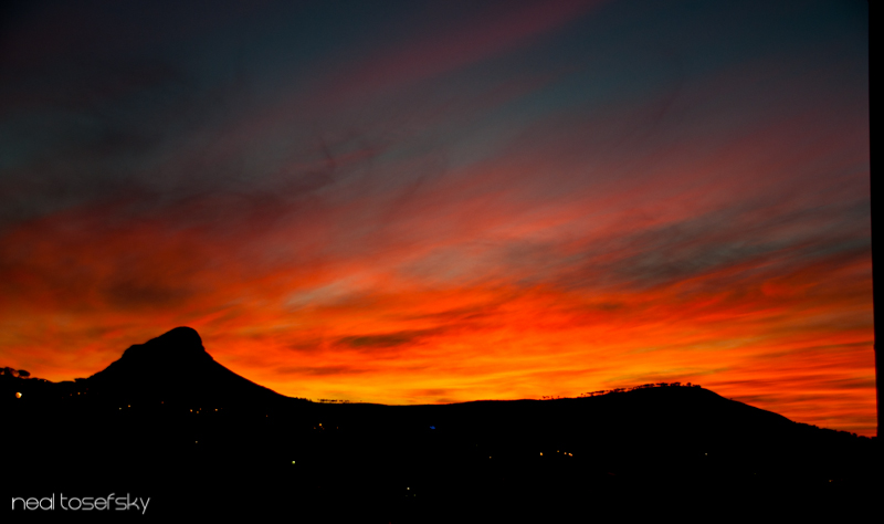A Special Cape Town Sunset