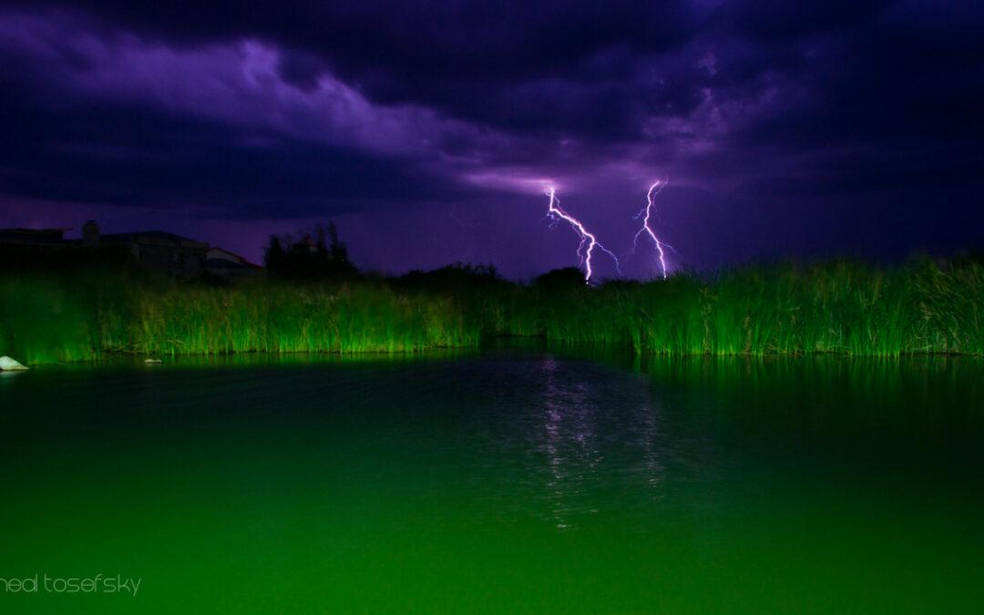 A Great Botswana Lightning Storm