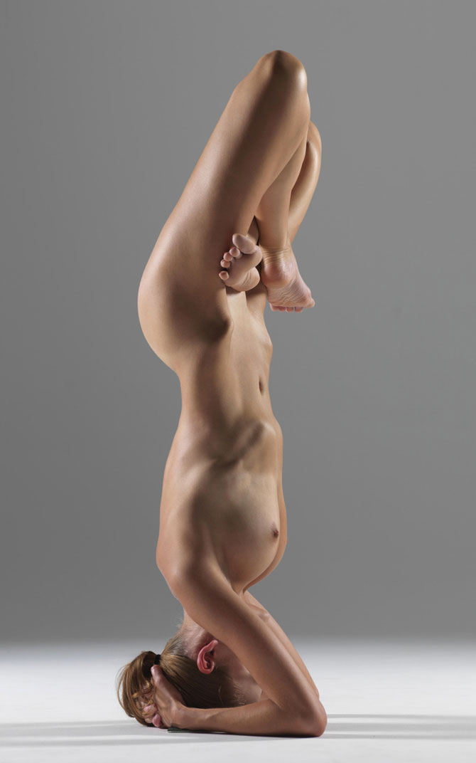 Nude Yoga Photoshoot