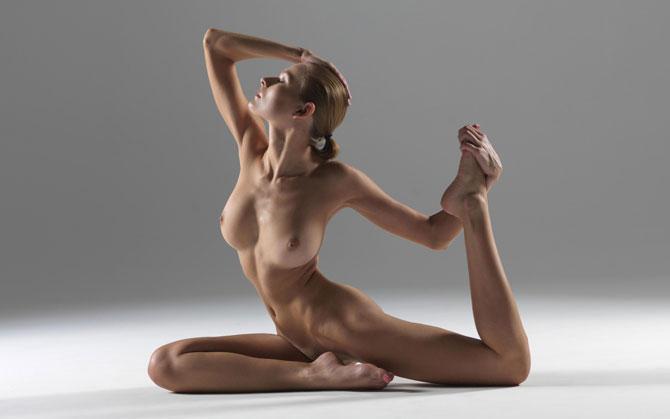 Nude yoga photography